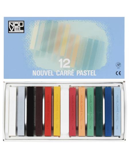 Pastel Seco Carré Nouvel Sakura 12 Cores NCT-12A