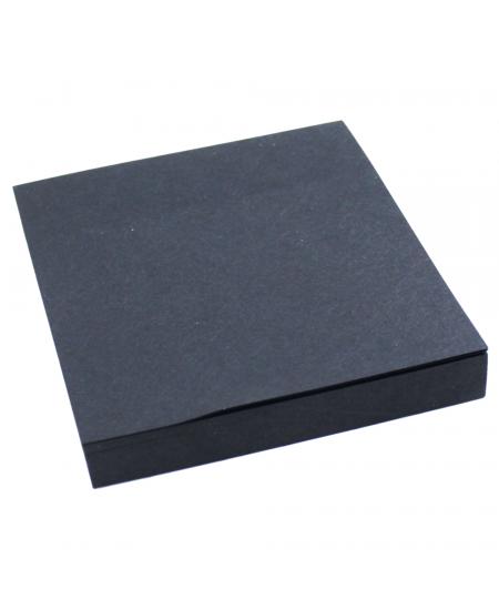Bloco de Anotações Auto Adesivo Preto Eagle 7,5 x 7,5 cm