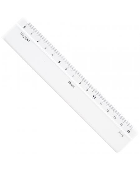 Régua de Acrílico 15cm  Trident 7115