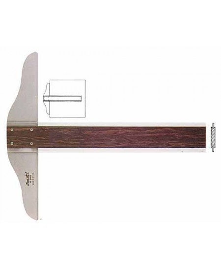 Régua T  60cm Fenólica Trident 5506