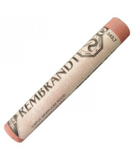 Pastel Seco Rembrandt 343.7 Caput Mortuum Red