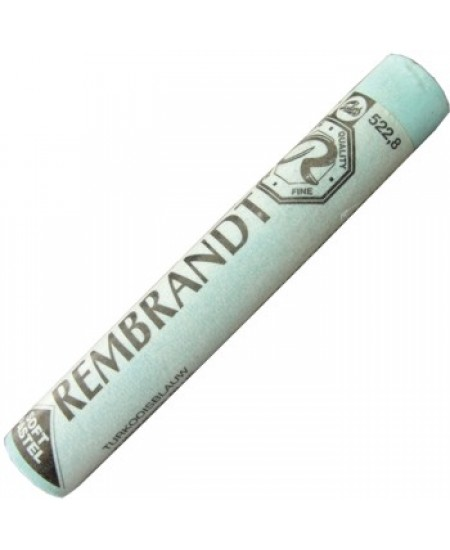 Pastel Seco Rembrandt 522.8 Turquoise Blue