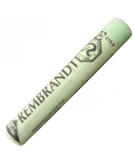 Pastel Seco Rembrandt 619.9 Permanent Green Deep