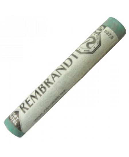 Pastel Seco Rembrandt 627.5 Cinnabar Green Deep