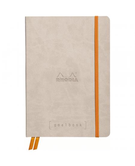 Caderno Goalbook Rhodia Beige