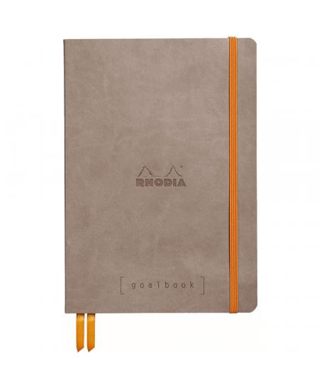 Caderno Goalbook Rhodia Taupe