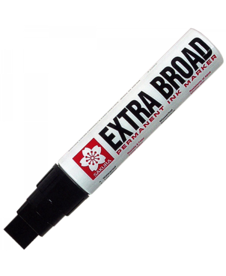 Caneta Permanente Extra Board 16mm Preto Sakura