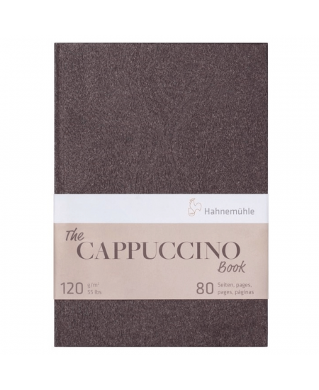 Bloco Papel The Cappuccino Book Hahnemühle A4