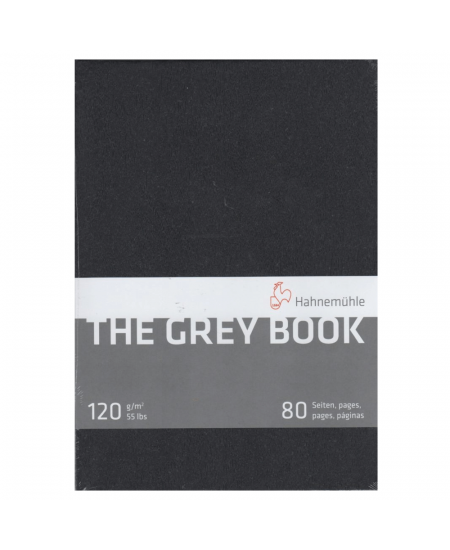 Bloco Papel The Grey Book Hahnemühle A5