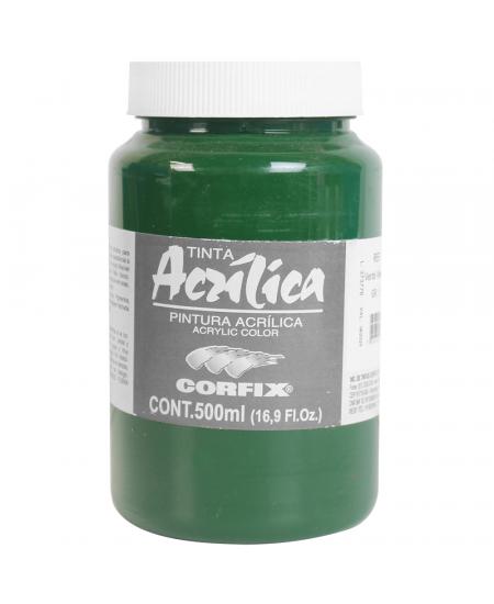 Tinta Acrílica Corfix 500ml 78 Verde Vessie