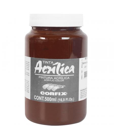 Tinta Acrílica Corfix 500ml 83 Sombra Queimada