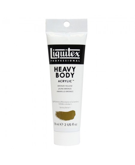 Tinta Acrílica Liquitex Heavy Body 530 Bronze Yellow 59ml