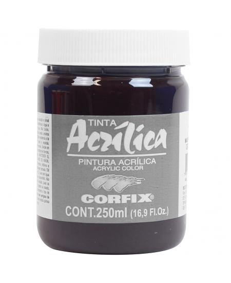 Tinta Acrílica Corfix 250ml  95 Marrom Garança G2