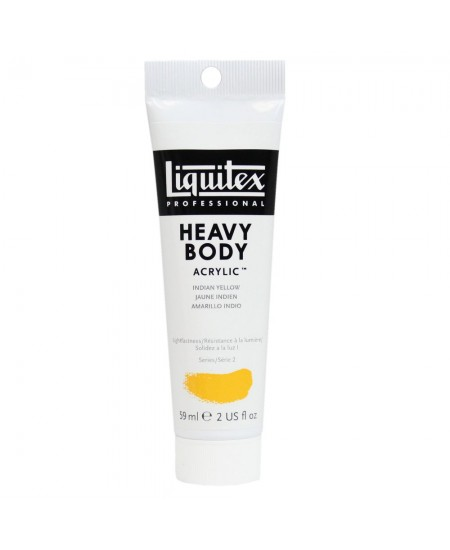 Tinta Acrílica Liquitex Heavy Body 324 Indian Yellow 59ml