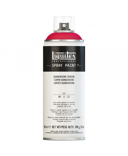 Tinta Acrílica Spray Liquitex 400ml 0110 Quinaquidrone Crimson