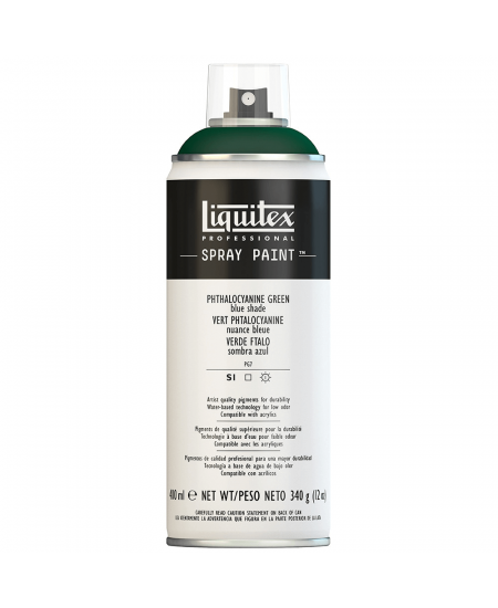 Tinta Acrílica Spray Liquitex 400ml 0317 Phthalo Green (Blue Shade)