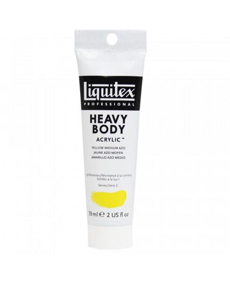 Tinta Acrílica Liquitex Heavy Body 412 Yellow Medium Azo 59ml
