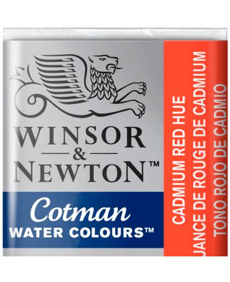 Aquarela Cotman W&N Pastilha 095 Cadmium Red Hue