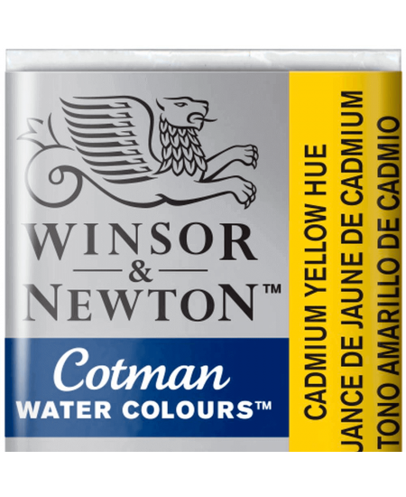 Aquarela Cotman W&N Pastilha 109 Cadmium Yellow Hue