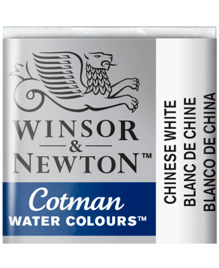 Aquarela Cotman W&N Pastilha 150 Chinese White