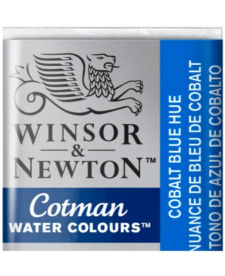Aquarela Cotman W&N Pastilha 179 Cobalt Blue Hue