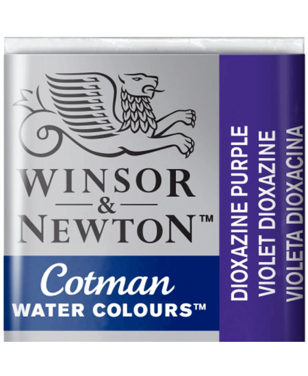 Aquarela Cotman W&N Pastilha 231 Dioxazine Purple