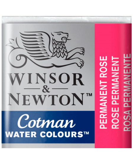 Aquarela Cotman W&N Pastilha 502 Permanent Rose