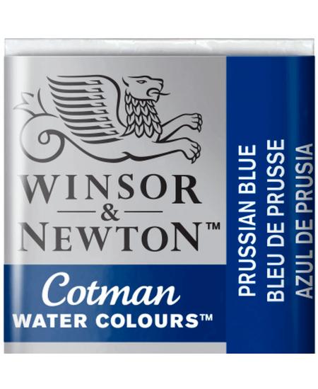 Aquarela Cotman W&N Pastilha 538 Prussian Blue