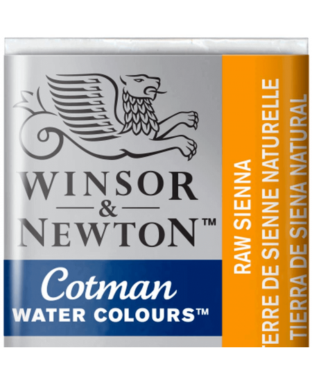 Aquarela Cotman W&N Pastilha 552 Raw Sienna