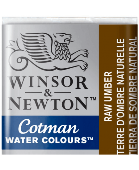 Aquarela Cotman W&N Pastilha 554 Raw Umber