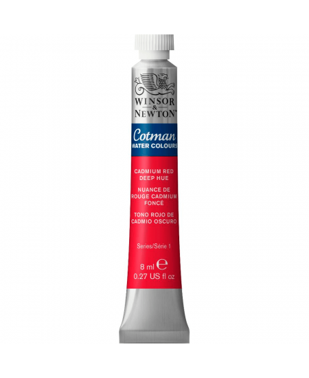 Aquarela Cotman W&N Tubo 8ml 098 Cadmium Red Deep Hue