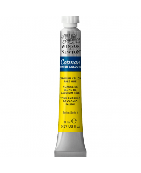 Aquarela Cotman W&N Tubo 8ml 109 Cadmium Yellow Pale Hue