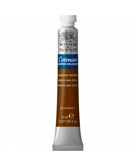 Aquarela Cotman W&N Tubo 8ml 676 Vandyke Brown