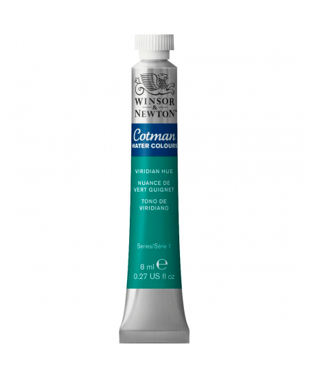 Aquarela Cotman W&N Tubo 8ml 696 Viridian Hue