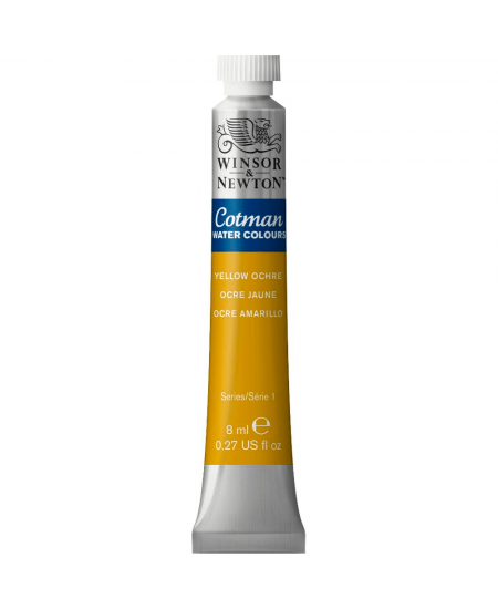 Aquarela Cotman W&N Tubo 8ml 744 Yellow Ochre
