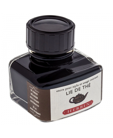 Tinta para Caneta Tinteiro Herbin La Perle des Encres 30ml Lie de Thé