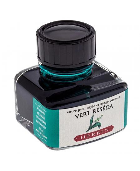 Tinta para Caneta Tinteiro Herbin La Perle des Encres 30ml Vert Réséda
