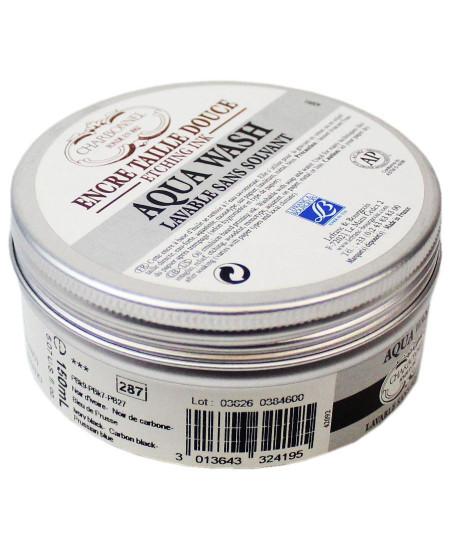 Tinta Para Gravura Aqua Wash Charbonnel 150ml 287 Luxe Black