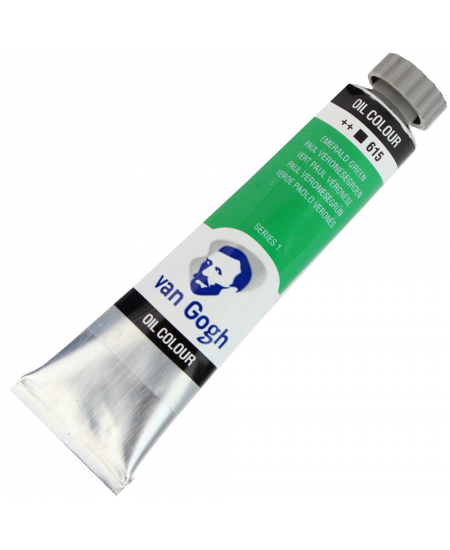 Tinta Óleo Van Gogh 20ml 615 Emerald Green