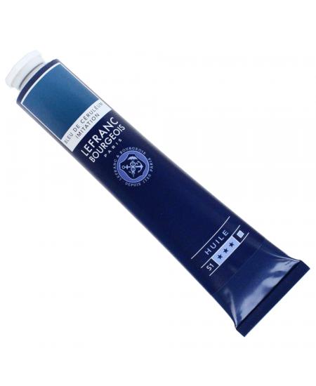 Tinta Óleo Fine Lefranc & Bourgeois 027 Cerulean Blue Hue