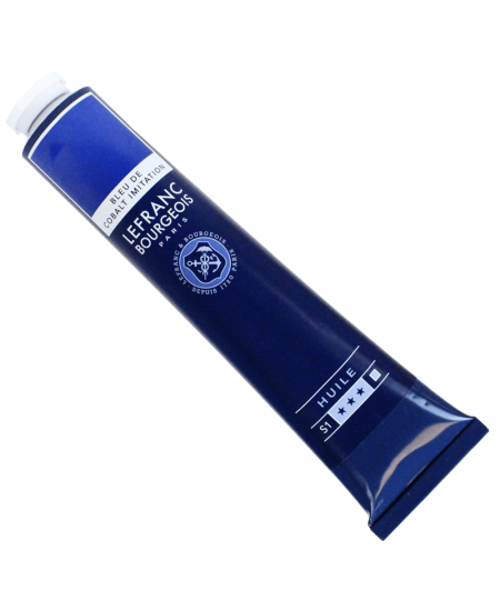 Tinta Óleo Fine Lefranc & Bourgeois 064 Cobalt Blue Hue