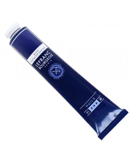 Tinta Óleo Fine Lefranc & Bourgeois 095 Phthalocyanine Blue