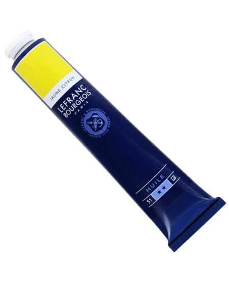Tinta Óleo Fine Lefranc & Bourgeois 150ml 169 Lemon Yellow