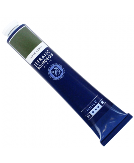 Tinta Óleo Fine Lefranc & Bourgeois 150ml 483 Earth Green