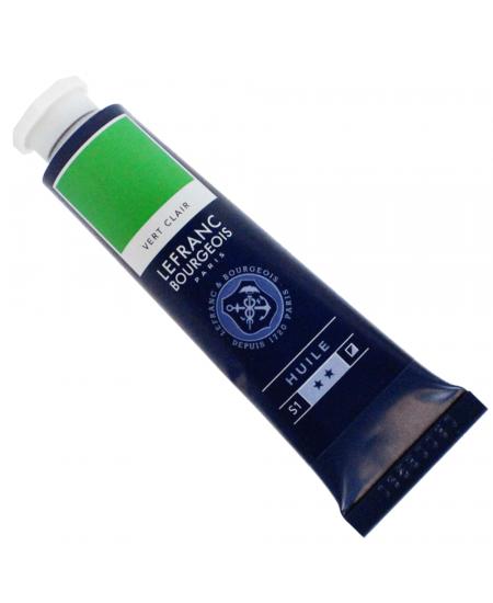 Tinta Óleo Fine Lefranc & Bourgeois 40ml 556 Light Green