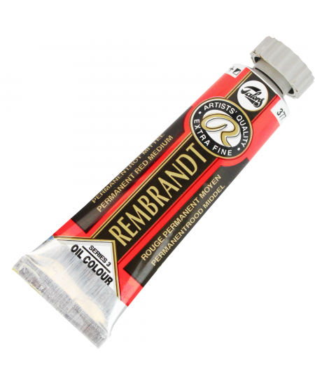 Tinta Óleo Rembrandt 15ml 377 Permanent Red Medium - Série 3