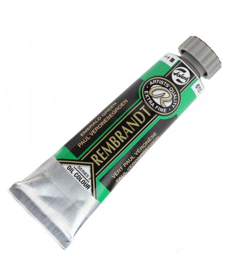 Tinta Óleo Rembrandt 15ml 615 Emerald Green - Série 2