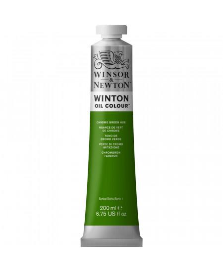 Tinta Óleo Winton 200ml Winsor & Newton 145 Chrome Green Hue