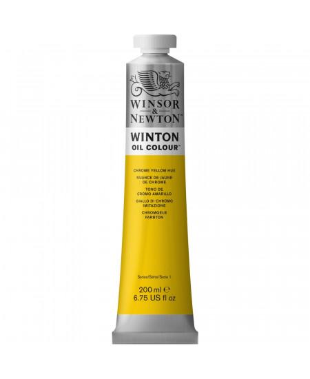Tinta Óleo Winton 200ml Winsor & Newton 149 Chrome Yellow Hue