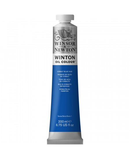 Tinta Óleo Winton 200ml Winsor & Newton 179 Cobalt Blue Hue